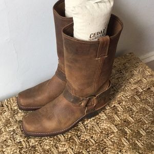 New Frye Harness Boots
